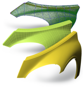 PolyWorksModeler_SurfaceModeling