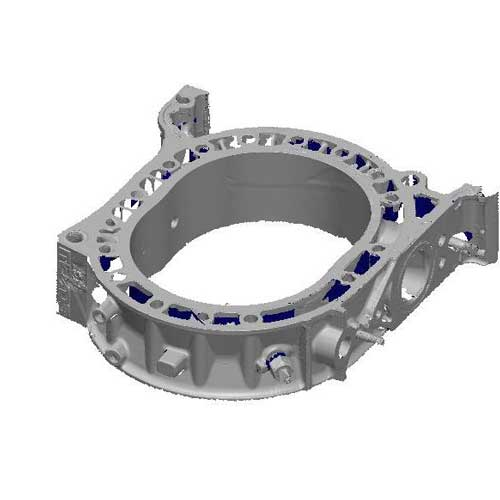 3D Scanning Services - Output file from a scanned automotive part